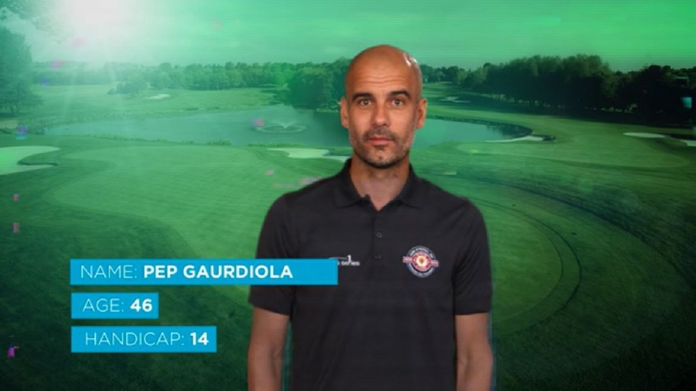 Icons of football - Pep Guardiola Green Screen